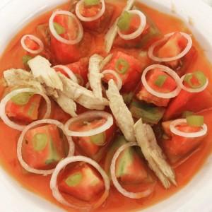 tomaquet, amanida, barlocal, ecològic