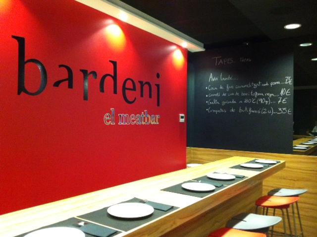 Bardeni Meatbar Triemrestaurant